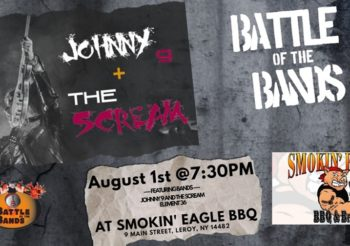 Johnny 9 at The Smokin' Eagle BBQ Battle of the Bands – Aug 1st 9 PM